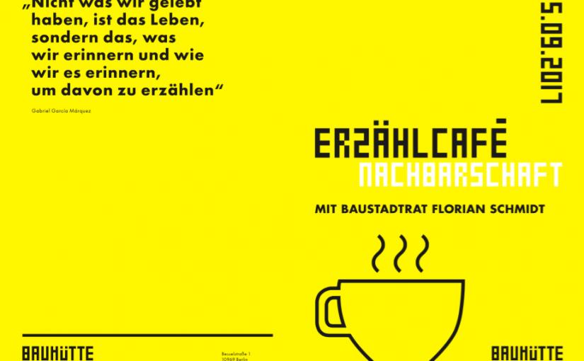 Flyer Erzählcafé